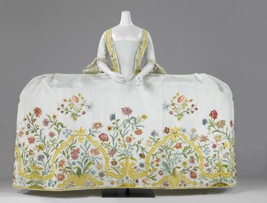 De bruidsjapon van Helena Slicher (1737-1776).