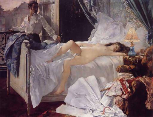 Henri Gervex (1852-1929), Rolla, 1878, olieverf op doek, Musée d'Orsay, Parijs, in permanente bruikleen aan Musée des Beaux-Arts, Bordeaux.