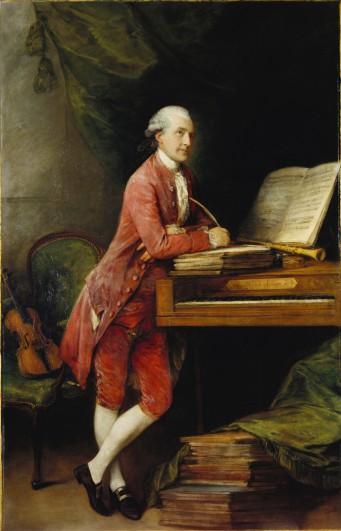 Thomas Gainsborough, Johann Christian Fischer, 1780, Royal Collection Trust (c) Her Majesty Queen Elizabeth II 2016.