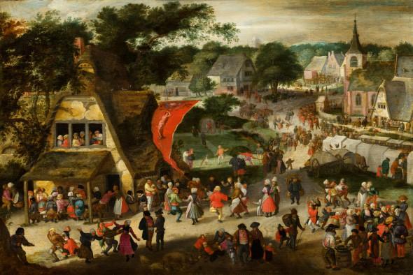 Jacob Savery de Oude Sint Sebastiaanskermis, ca. 1598 Mauritshuis, Den Haag