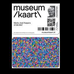 De nieuwe Museumkaart voor volwassenen.