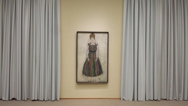 Egon Schiele (1890-1918), Portret van Edith (vrouw van de kunstenaar), 1915, olieverf op doek, Gemeentemuseum Den Haag.