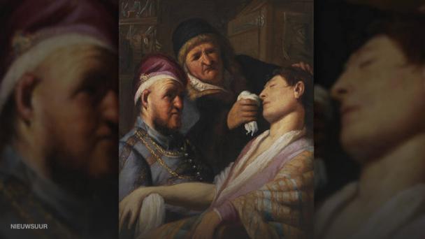 Rembrandt van Rijn, De flauwgevallen patiënt (De reuk).