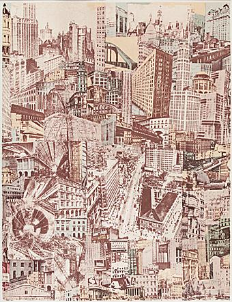 Litho van Paul Citroens Metropolis.