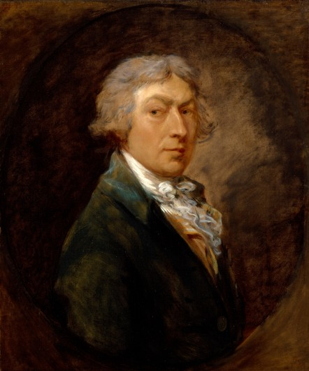 Thomas Gainsborough, Zelfportret, ca. 1787, Royal Academy of Art.
