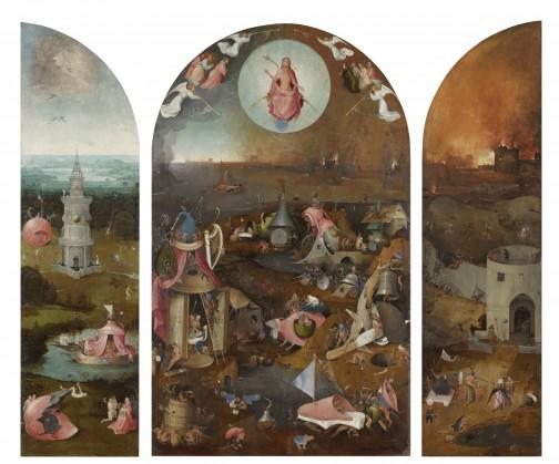 Jheronimus Bosch, Het Laatste Oordeel, ca. 1495-1505, Brugge, Stad Brugge, Groeningemuseum. Foto Rik Klein Gotink en beeldverwerking Robert G. Erdmann voor het Bosch Research and Conservation project.