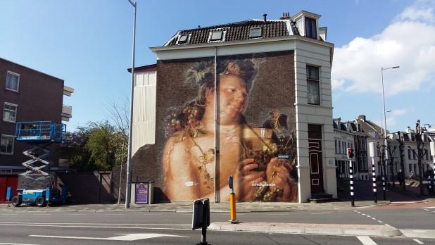 Bacchus, van Joachim Wtewael aan de Bleekstraat in Utrecht.