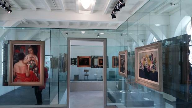 Zaal met de Van Baaren-collectie.