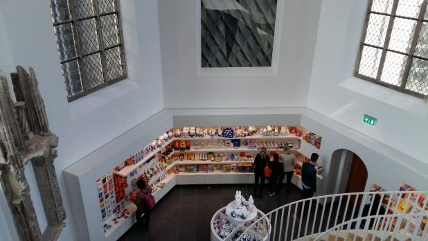 Museumwinkel, van boven gezien.
