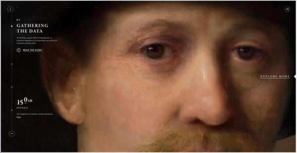 Detail van het portret.
