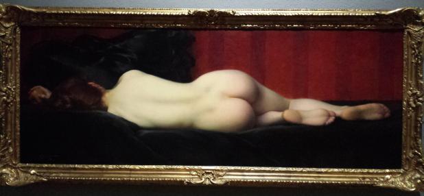 Albert Penot, La fille d'Eve, ca. 1900, olieverf op doek.