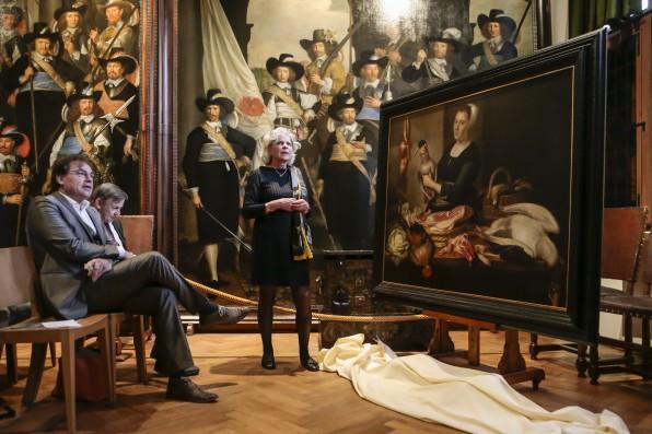 Schilderij van Rotius aangekocht door Westfries Museum.