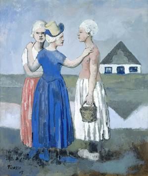 Pablo Picasso, Les trois Hollandaises, 1905, © Succession Picasso 2016.