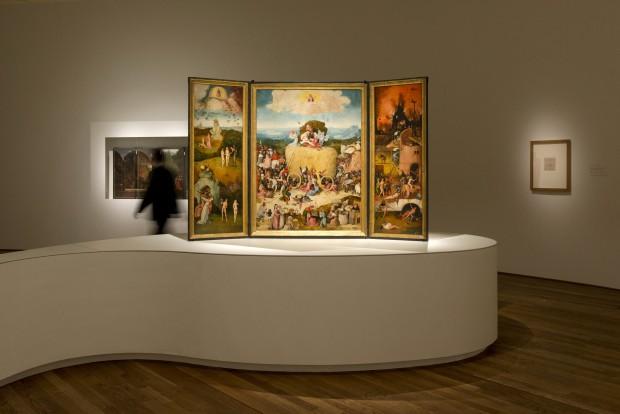 Expositiezaal met de Hooiwagen. Foto © Museo Nacional del Prado.