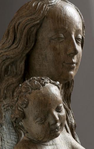 Maria met kind, Meester van de Emmerikse Heiligen, ca. 1475, Museum Catharijneconvent, Utrecht.