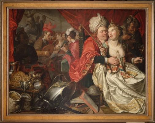 Vrouw Wereld van Jacob Waben, een van de vier eerder teruugevonden schilderijen.