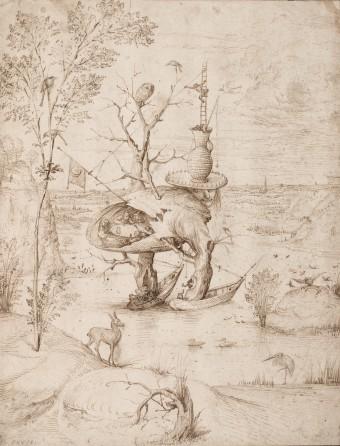 Jheronimus Bosch, Boommens, Albertina, Wenen.