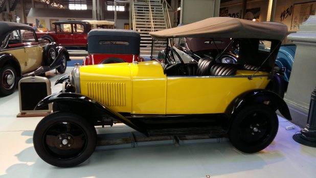 Citroën Type C Boattail, 1925, Autoworld, Brussel.