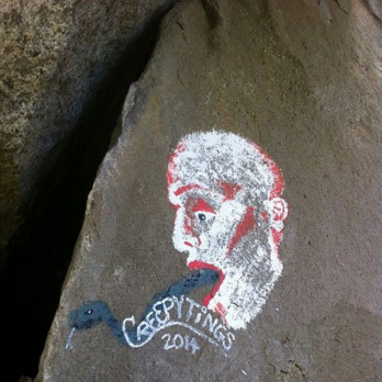 Graffiti van Casey Nocket. Foto: Casey Nocket op Instagram.
