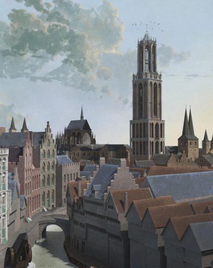 Daan Claessen, De Dom omstreeks 1440, 3D-animatie, collectie gemeente Utrecht.