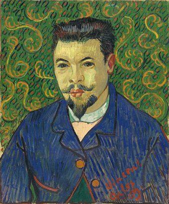 Vincent van Gogh, Portret Dr Félix Rey, olieverf op doek, januari 1889, The State Pushkin Museum of Fine Arts, Moskou.