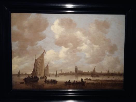 Jan van Goyen, Gezicht op de Oude Maas bij Dordrecht, 1651 , Dordrechts Museum.