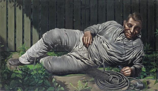 Pyke Koch, Rustende schoorsteenveger, 1936, collectie Museum MORE © Erven Pyke Koch.