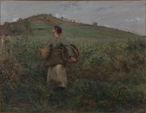 Jules Bastien-Lepage (1848-1884), De druivenoogst, 1880, Van Gogh Museum, Amsterdam.