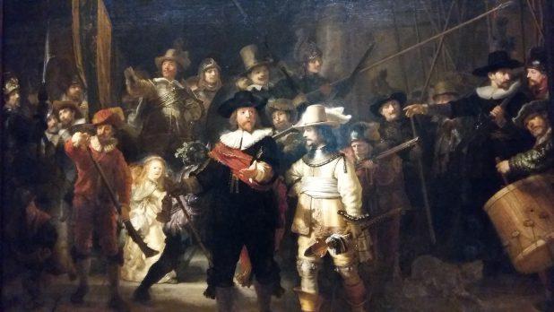 De Nachtwacht heeft concurrentie van Marten en Oopjen.