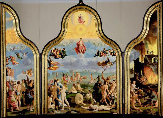 Lucas van Leyden, Laatste Oordeel (1526-27), collectie Museum De Lakenhal, Leiden.