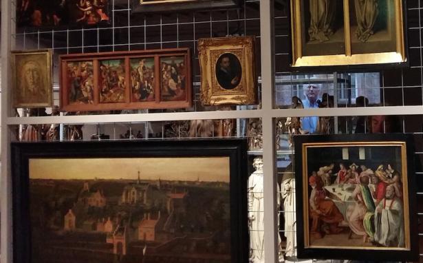 De eerste zaal van de expositie. Foto: Evert-Jan Pol.