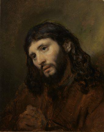 Rembrandt, Hoofd van Christus.