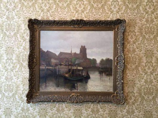 Gezicht op Dordrecht van Wim Jansen. Foto: Dordrechts Museum.