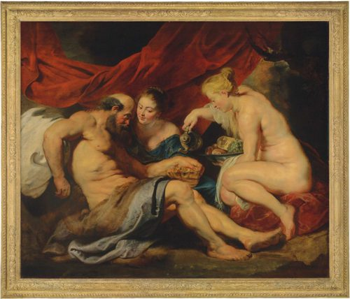Peter Paul Rubens (1577-1640), Lot en zijn dochters, 1613-14. Foto: Christie's Images Limited.