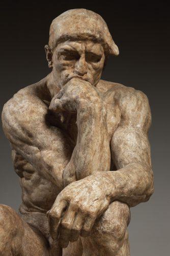 Auguste Rodin (1840-1917), De Denker, grote versie, 1903, Musée Rodin, Parijs © Musée Rodin (foto: Christian Baraja).