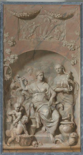 Gerard de Lairesse, Allegorie op de Rijkdom, 1675-1683, olieverf op doek, Rijksmuseum, Amsterdam.