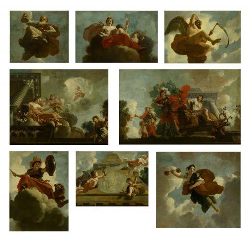 Gerard de Lairesse, Plafondschildering Leprozenhuis, Amsterdam, Amsterdam Museum