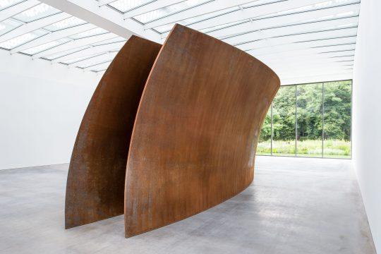 Richard Serra (1938) Open Ended (2007-2008) Museum Voorlinden, Wassenaar. Foto: Antoine van Kaam.