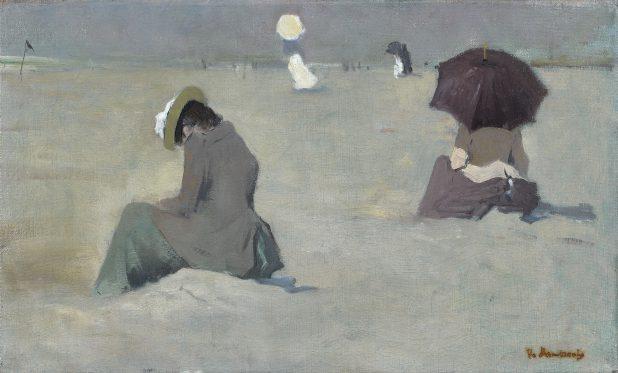 Floris Arntzenius, Strand bij Scheveningen, ca. 1900, Museum Gouda.