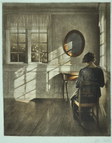 Peter Ilsted, Zonneschijn, 1907, Museum Boijmans Van Beuningen, Rotterdam.