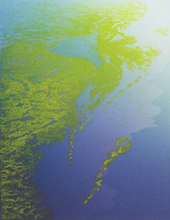 Nono Reinhold, Miroir de lumière, 1982, vernis mou, bezit van de kunstenaar.