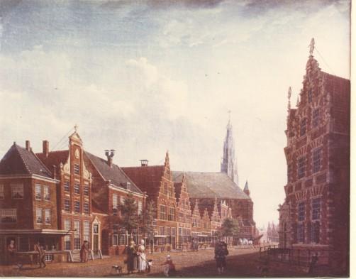 Izaak Ouwater, Nieuwstraat in Hoorn, 1784.