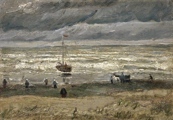 Vincent van Gogh, Zeegezicht bij Scheveningen, 1882, Van Gogh Museum, Amsterdam.