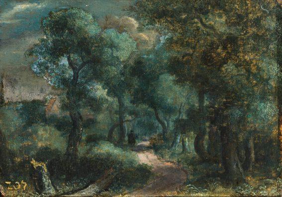 Hercules Segers, Weg in het bos, ca. 1618-20, privécollectie.