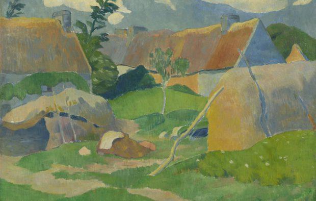 Paul Sérusier (1864-1927), Boerderij in Bretagne, ca. 1890, Van Gogh Museum, Amsterdam.