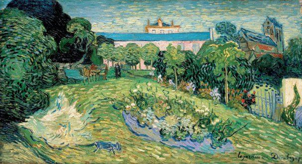 Vincent van Gogh, De tuin van Daubigny, 1890, Basel, collectie R. Staechelin.