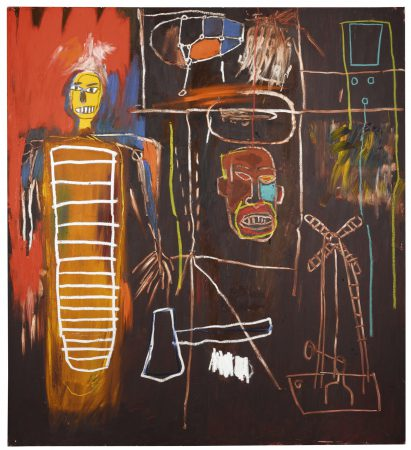 Jean-Michel Basquiat, Air Power. Foto: Sotheby's.