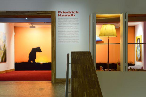 Zaaloverzicht in expositie Friedrich Kunath. Foto: Mike Bink.