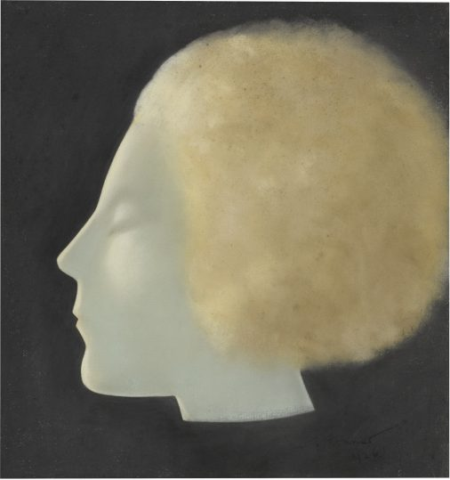Jacob Kramer, Head of a Young Woman, 1926, pastel. Foto: Sotheby's.