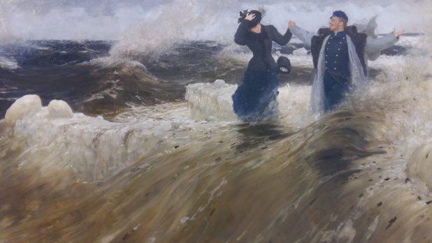 Ilya Repin, Wat een vrijheid, 1903, Staats Russisch Museum, Sint-Petersburg.